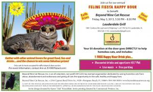 Feline Fiesta Happy Hour