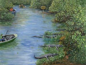 Artist Karen Zuk Rosenblatt Has Painting At National Wildlife Refuge