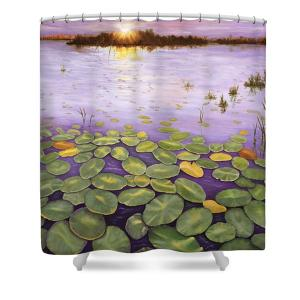 Artist Karen Zuk Rosenblatt Art On Shower Curtains
