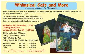 Whimsical Cats And More